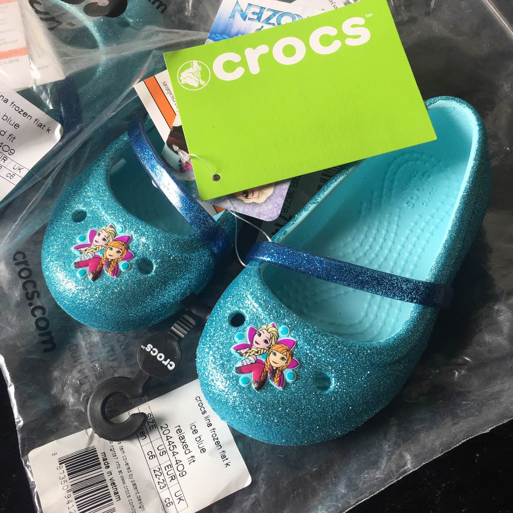 d202e3704 Crocs Lina Frozen C6 Flat
