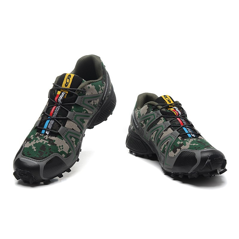 salomon speedcross 3 camouflage green dress