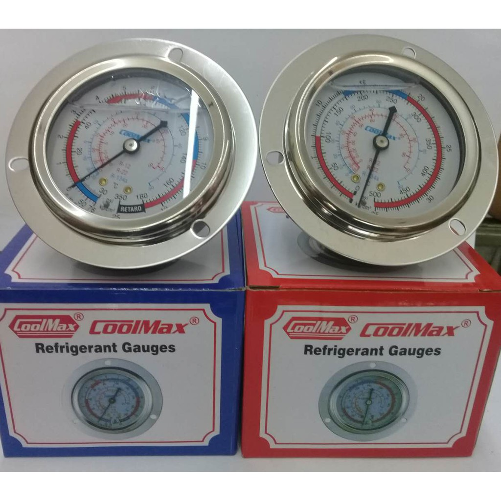 Uniweld Manifold Gauge For R410a Air Conditioning Shopee Philippines Value R22 Single Accurate