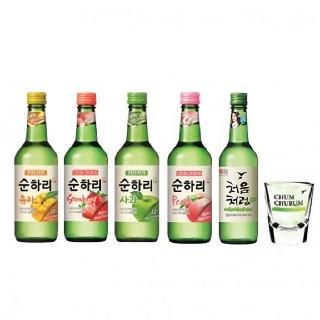 Jinro Green Grape Flavour Soju Alc 13% 360ml | Starry Mart