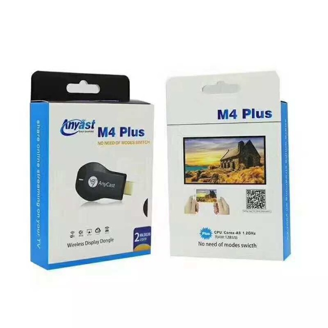 anycast wifi display dongle m4 plus  M9 mobile TV