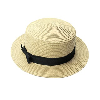 Korean hand-knit straw hat folded sun beach hat female visor  b9e2063bb20