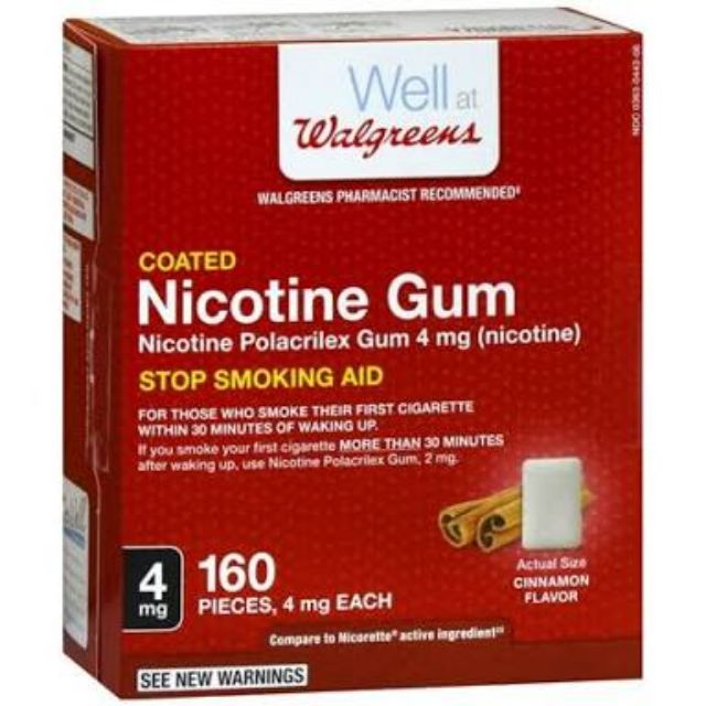Nicotine Gum Stop Smoking | Shopee Philippines