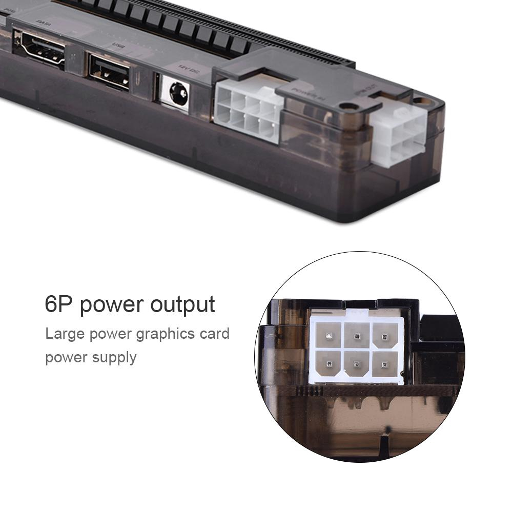 Independent Video Card Laptop External Independent Video Card Dock for Mini PCI-E Without Power Supply