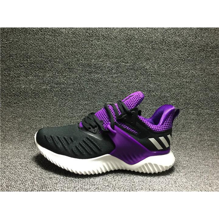 Adidas AlphaBounce Beyond Black Purple White BD7087 – 2019