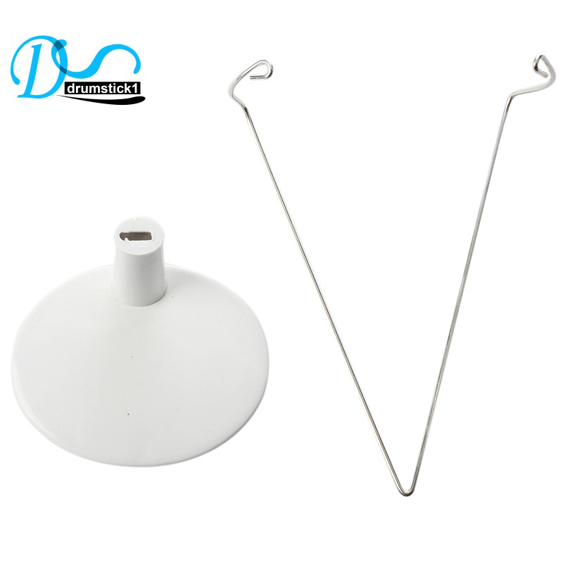 White Adjustable Doll Stand 4.5-5.7 Inch AD