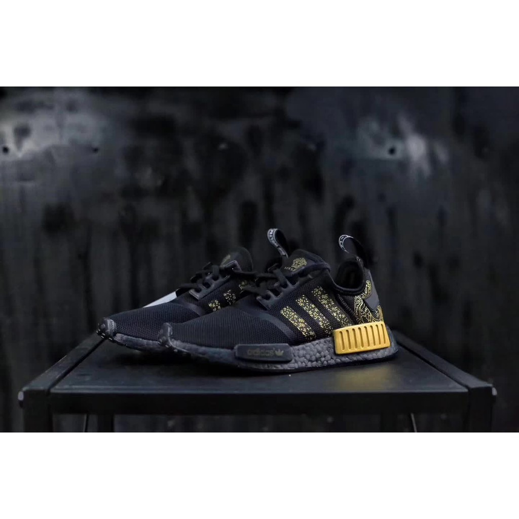 check out 9c7bf a95d6 SLK Original ★ Adidas VERSACE X NMD sneakers knitting shoes fashion casual  shoes