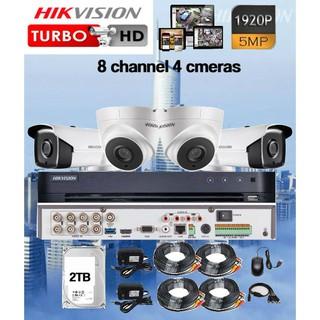 HIKVISION TURBO HD DVR Model DS-7208HUHI-K1 (5MP) 8 CHANNEL