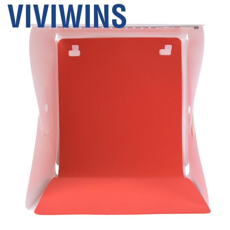 Portable Folding Mini Photo Studio Photography Light Box with 2 Color Backgrounds for Photography Mugast Mini Photography Box