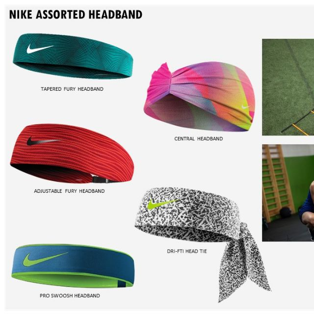 timeless design 60672 83512 Nike Dri-FIT Head Tie 2.0   Shopee Philippines