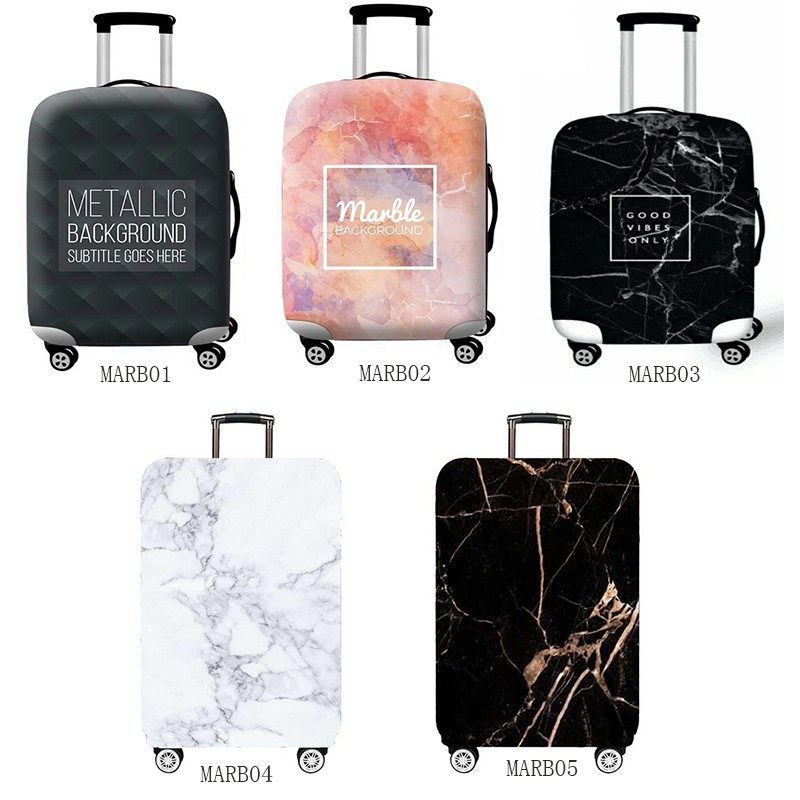 70621ca22f3e Ready Stock Marble Luggage Cover Suitcase Cover Thick