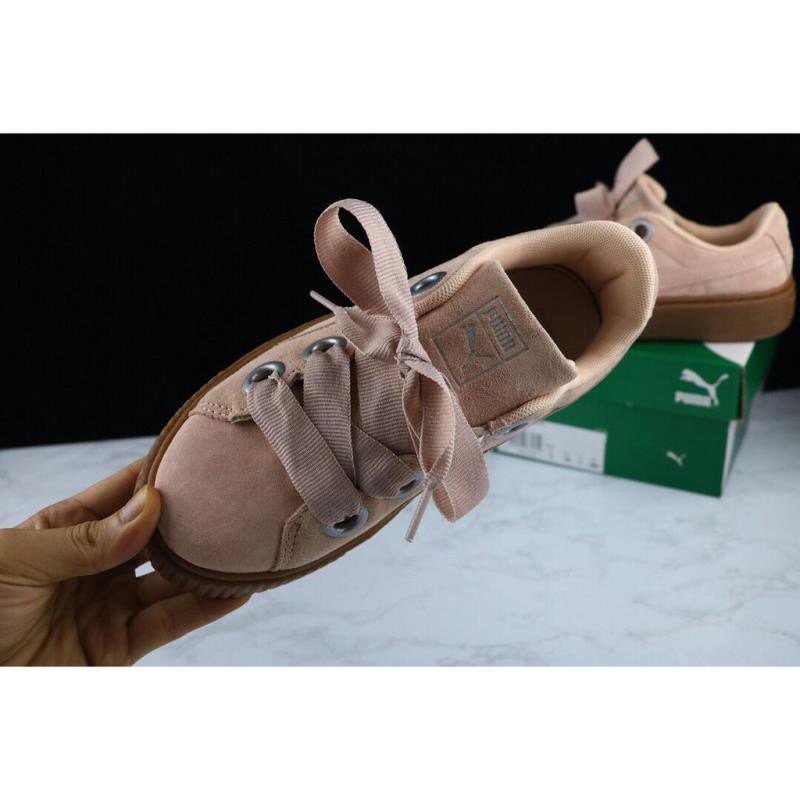 new product 73dcd 1ac19 jinyu original PUMA X RIHANNA SUEDE CREEPER women's casual couple shoes
