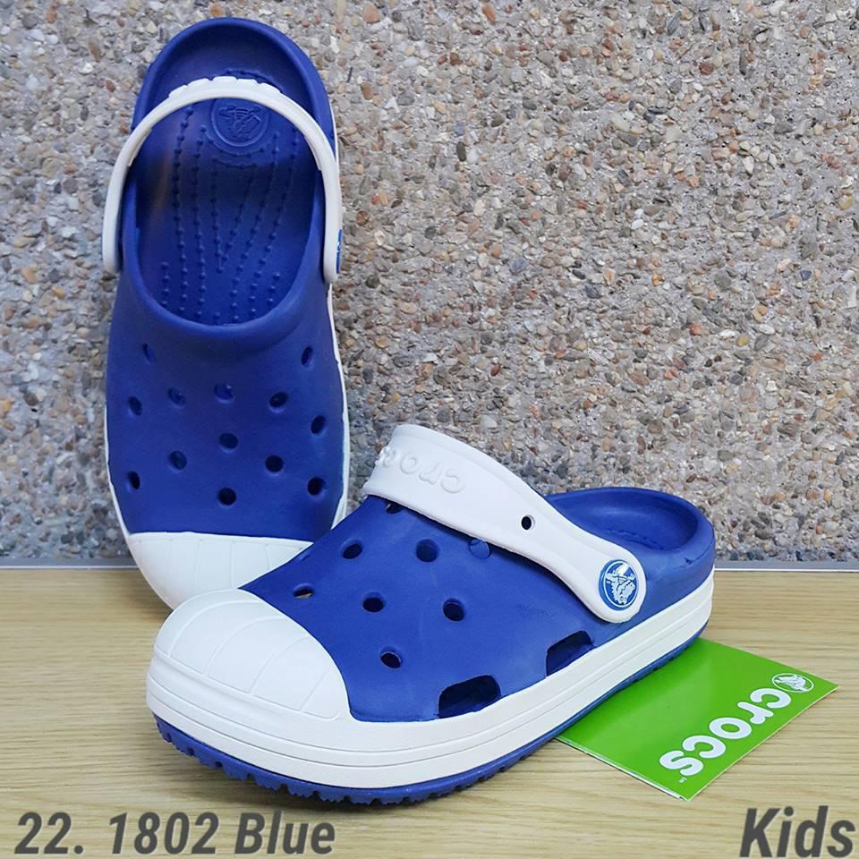 wholesale dealer 1d577 9434d Crocs 22. 1802 Blue Kids