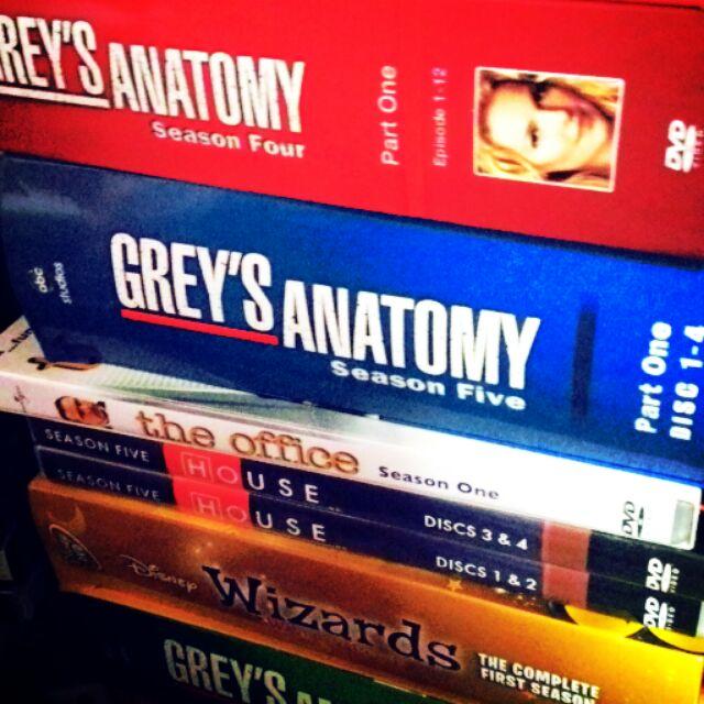 Original DVD - US TV Series Shows the office Grey's anatomy