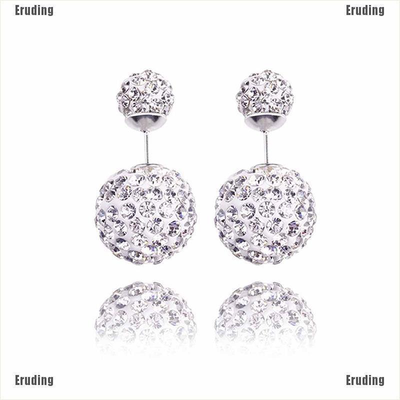 UK Womens Silver Earrings Flow Elegant 925 Sterling Stud Fashion Jewellery Studs