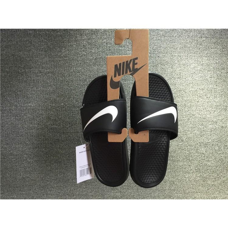 0610fb4e4dd7 Nike Benassi Duo Ultra Slide Double Slip Trendy Slipper Whit ...
