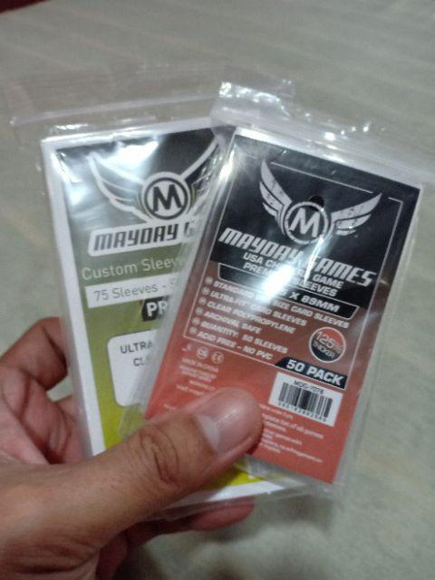 Mayday tarot card sleeves 70x120mm 75 Premium