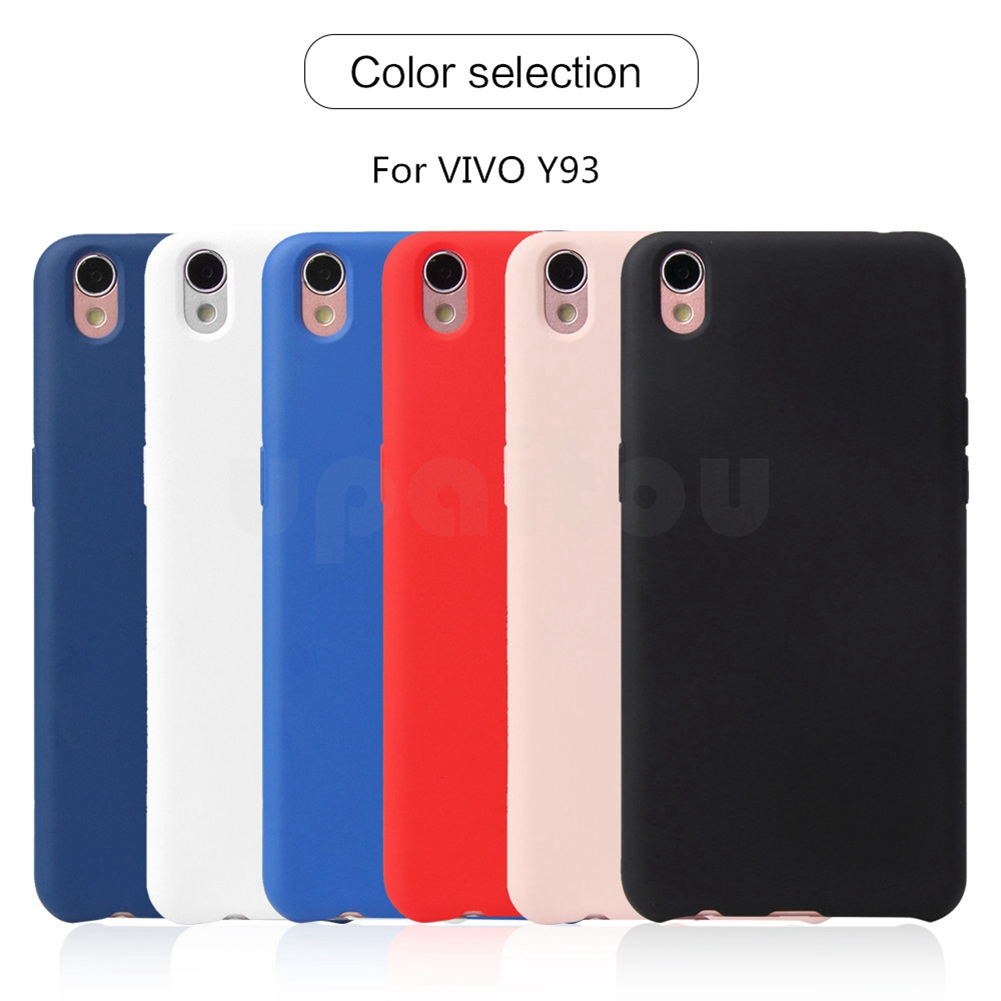 new arrivals a6237 847e1 VIVO Y93 Y97 Case Shockproof Matte Soft Silicon Phone Cover