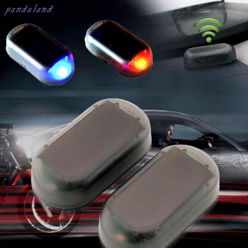 6-WHITE LED SUPER BRIGHT LASER 12V CAR ALARM LIGHT BLINKING THEFT DETERRENT