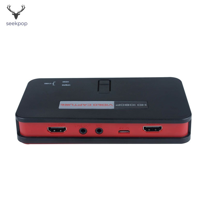 1080P HD Game Capture Video Card Recorder HDMI YPBPR For Xbox 360 One PS3 PS4 TV