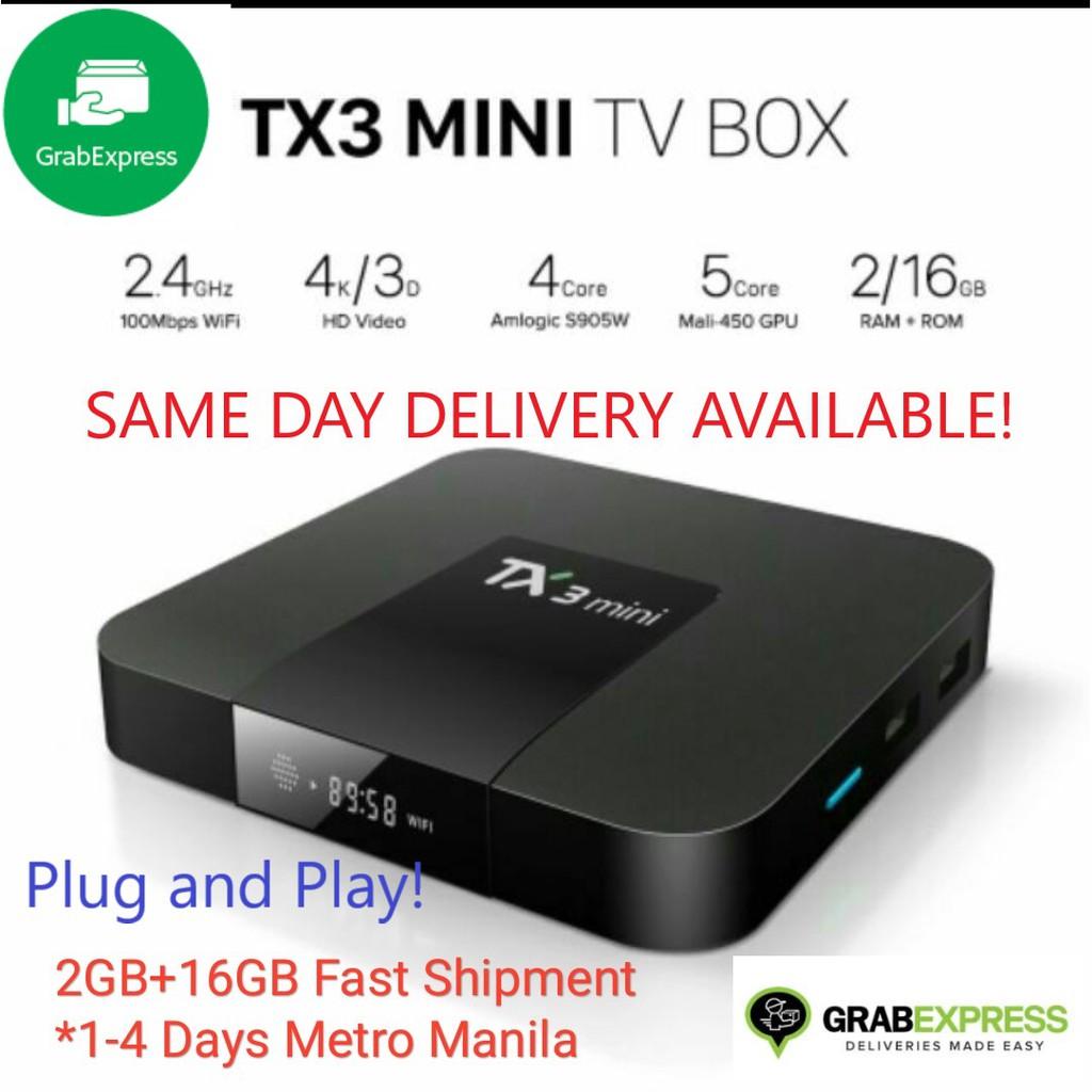 TX3 Mini Smart TV Android Box Nougat 2GB 16GB