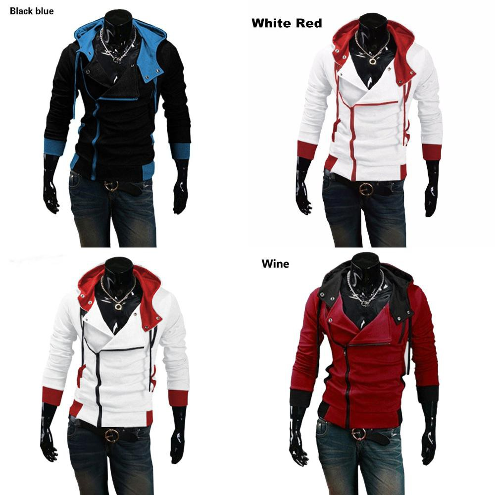 Hoodie Zipper Assassins Creed 3 Iii Jacket Men Shopee Philippines
