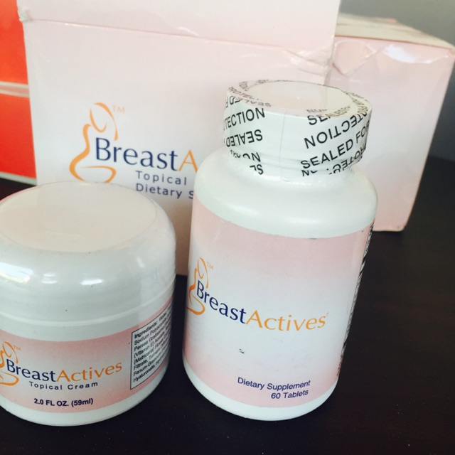 Breast Actives Capsule And Cream Shopee Philippines