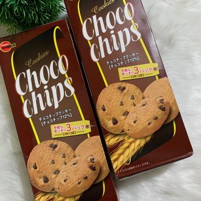 Japan Bourbon Choco Chips Shopee Philippines