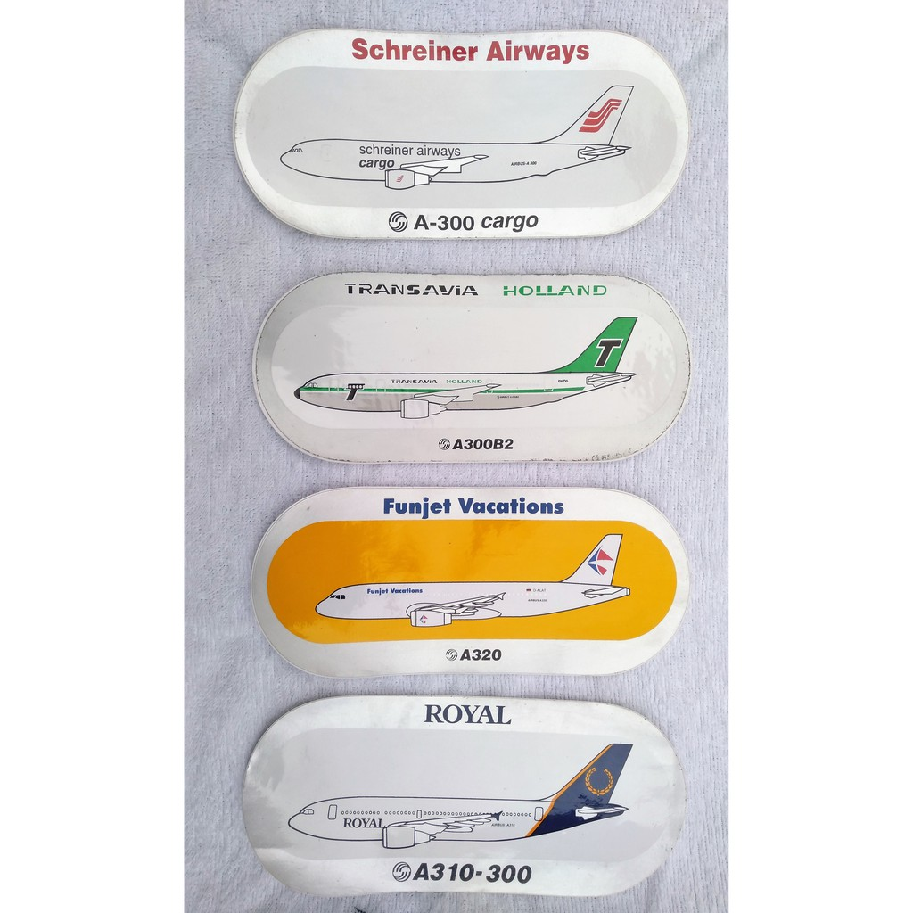 Take-All 8 Collectibles International Airline Stickers