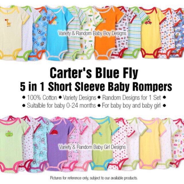 be0fdad3ea4 Carter s 5pc sando onesies set