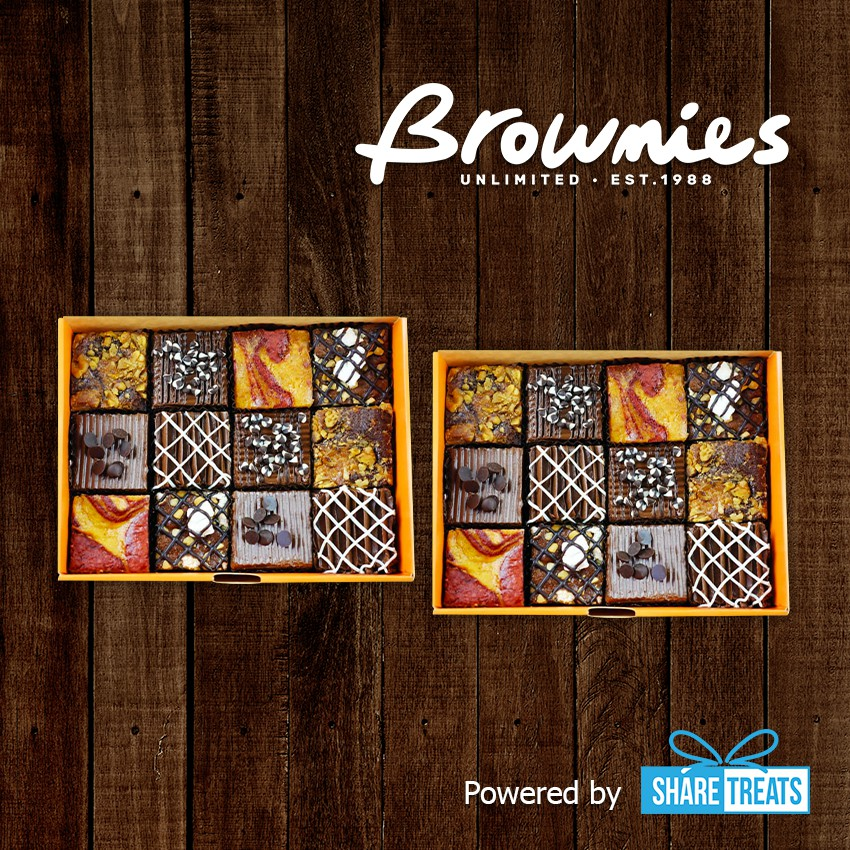 Brownies Unlimited 2pcs of Box of 12 SMS eVoucher
