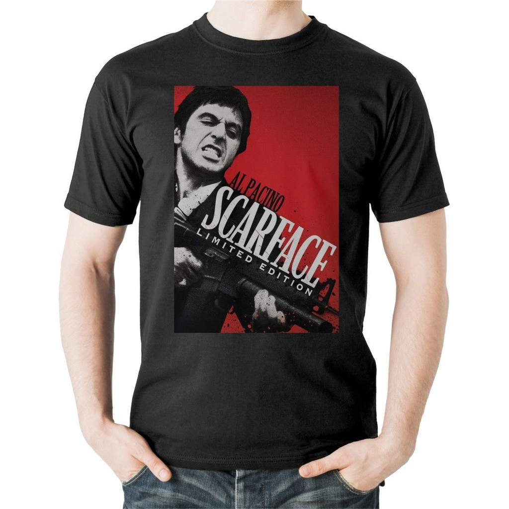 T 80s Shirt Film Montana Miami Tony Movie Pacino Classic Scarface Al mwOy0PNv8n