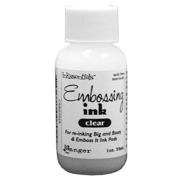 Embossing Ink Clear Ranger Emboss It Ink Pad