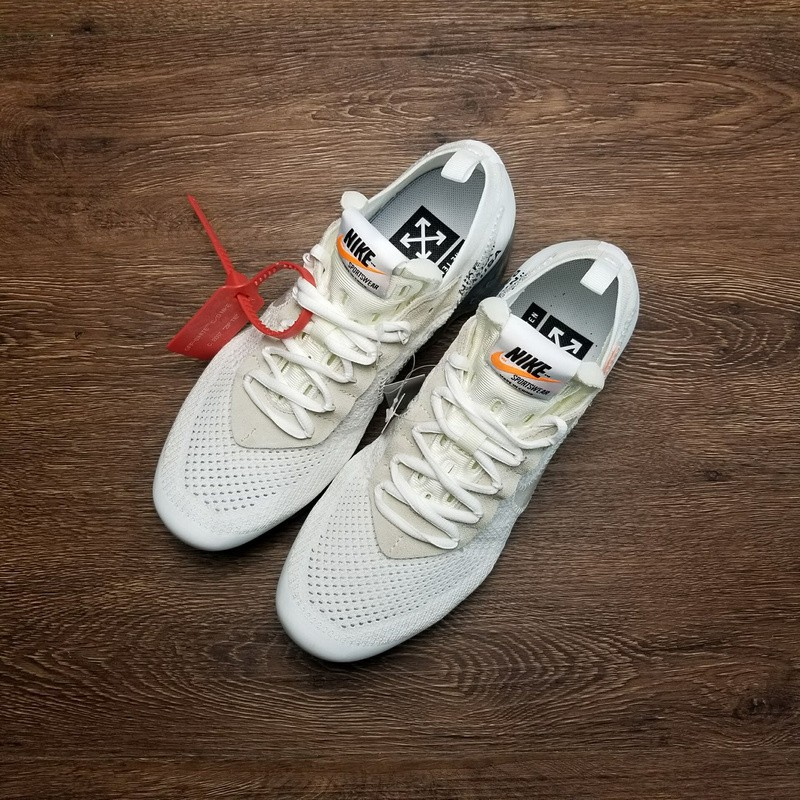 "1b21634d1b12 OFF-WHITE x Nike Air VaporMax 2.0 ""OW2.0 White""Couples Shoes ..."