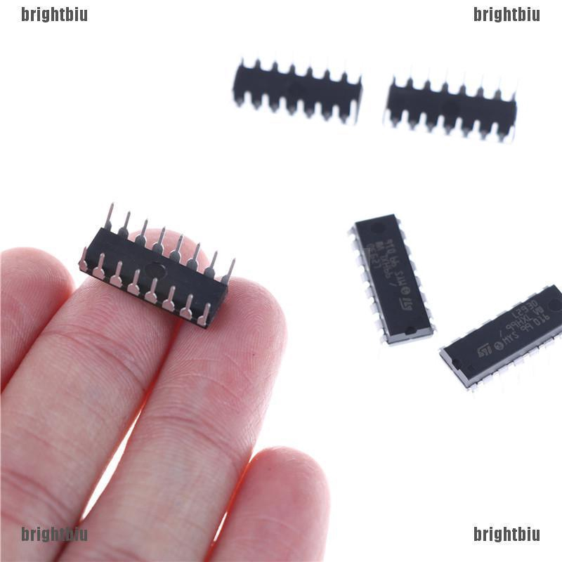 5PCS L293D L293 DIP Push-Pull Four-Channel Motor Driver IC