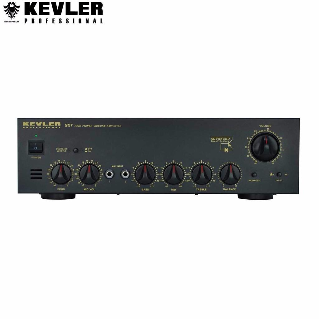Kevler Gx 2000 High Pow Karaoke Amplifier 750w X2 Maxblack Videoke Machine Wiring Shopee Philippines