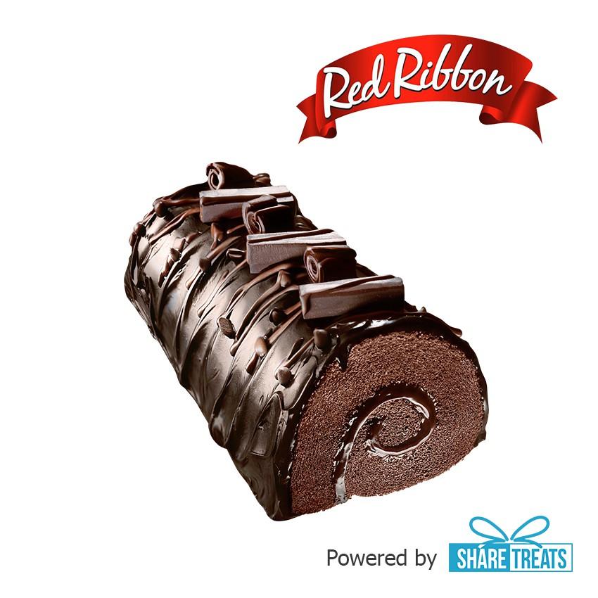 Red Ribbon Triple Chocolate Half Roll (SMS eVoucher)