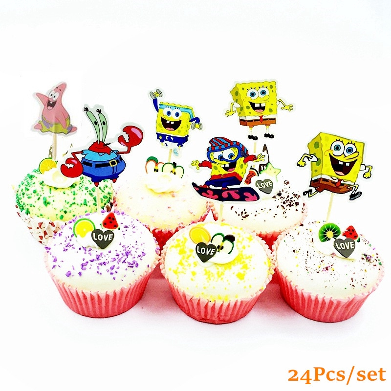 Marvelous 24Pcs Glitter Airplane And Cloud Cupcake Toppers Kids Birthday Birthday Cards Printable Giouspongecafe Filternl