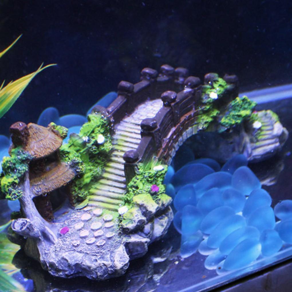 Aquarium Resin Fake Coral Sea Star Branch Stem Ornaments for Tank~Flower Pot ✿