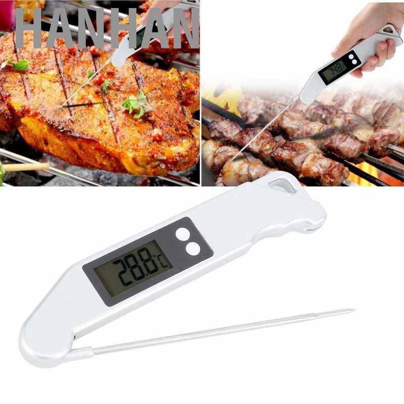 Digital Food Thermometer Probe Cooking Meat Kitchen Temperature BBQ Turkey Milk
