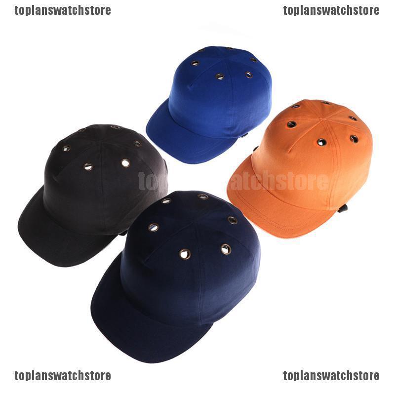 0acd0b026 Work Safety Bump Cap Helmet Baseball Style Protective Head Hard Hat