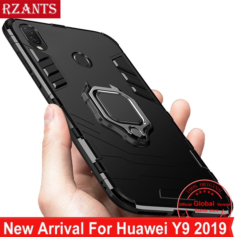 huge selection of afd04 f7ddf Huawei Y9 2019 Stand Case【Military Grade 】Shockproof Cover