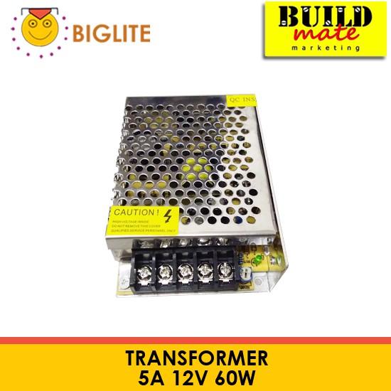BIGLITE 12V Transformer Power Supply 3A, 5A, 10A | Shopee