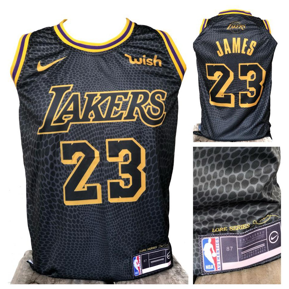 low priced fbb38 99b14 LEBRON JAMES #23 LAKERS City Lore Full SUBLIMATION Jersey!