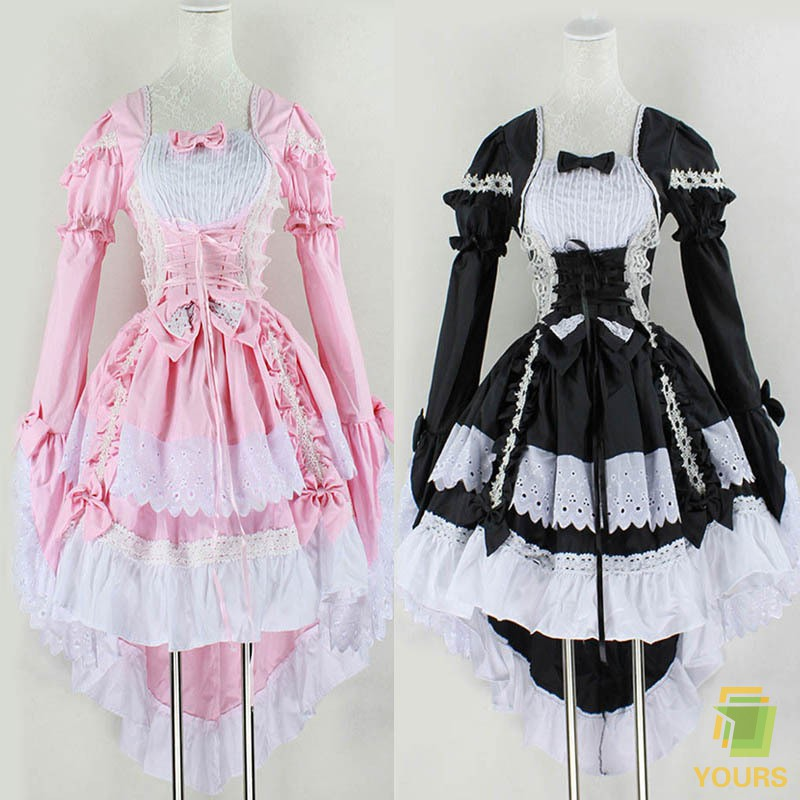 2c75b1fa94133 ღFD Womens Angel Princess Dress Maid Cosplay Fantasy Carnival Party  Costumes Clothes | Shopee Philippines