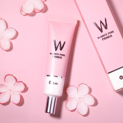 W.Lab W-Airfit Pore Primer pink | Shopee Philippines