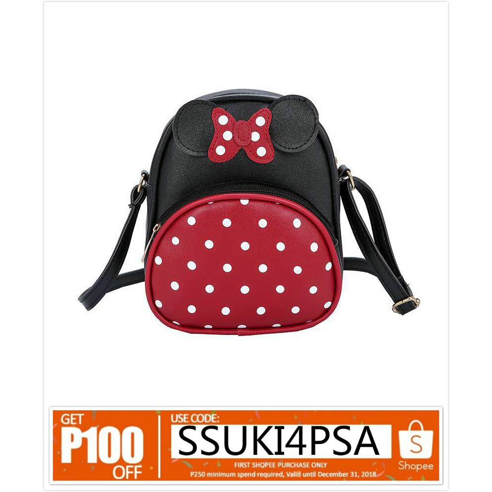 e72ceadf462 Shoulder Bags Mickey Minnie Boy Girl Mouse School Backpack