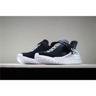 Adidas Pharrell Williams x PW HUMAN RACE NMD Men Women Sports Running Shoes for Classic BlackWhite