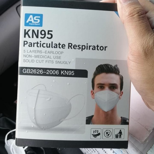5 PCS KN95 5 Layers Filters Face Mask For Men and women Masks for men Kn95 mask for Unisex