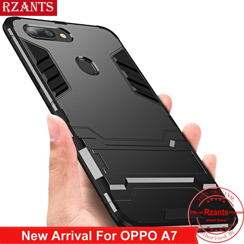 OPPO A7 / A5S Phone Casing Stand Case Protect Shockproof Cover | Shopee Philippines